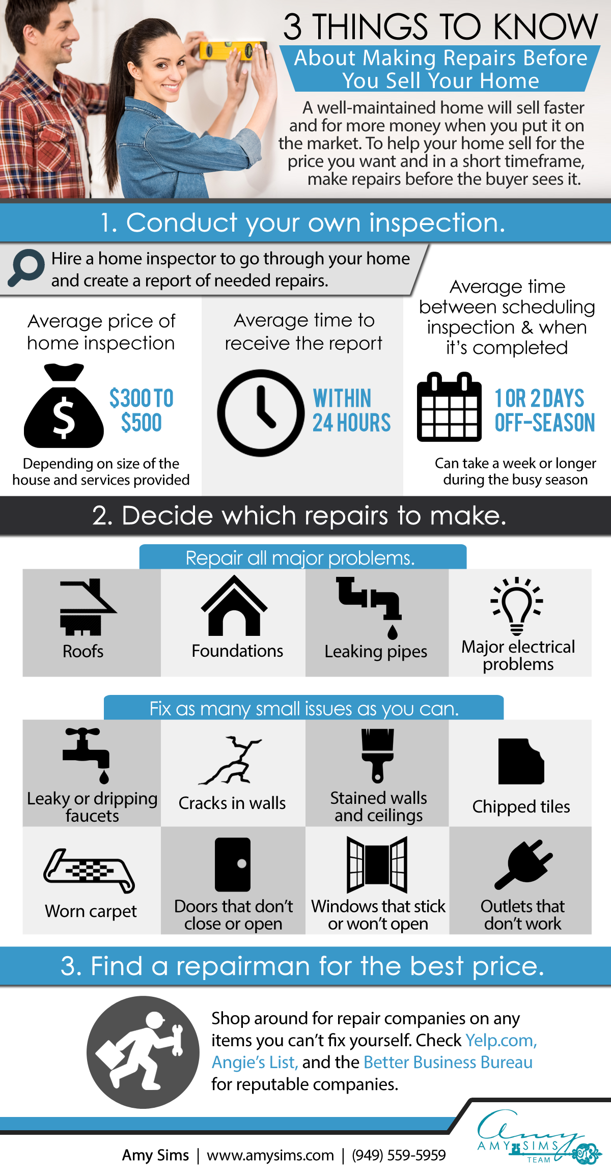3 Things to Know about Making Repairs Image
