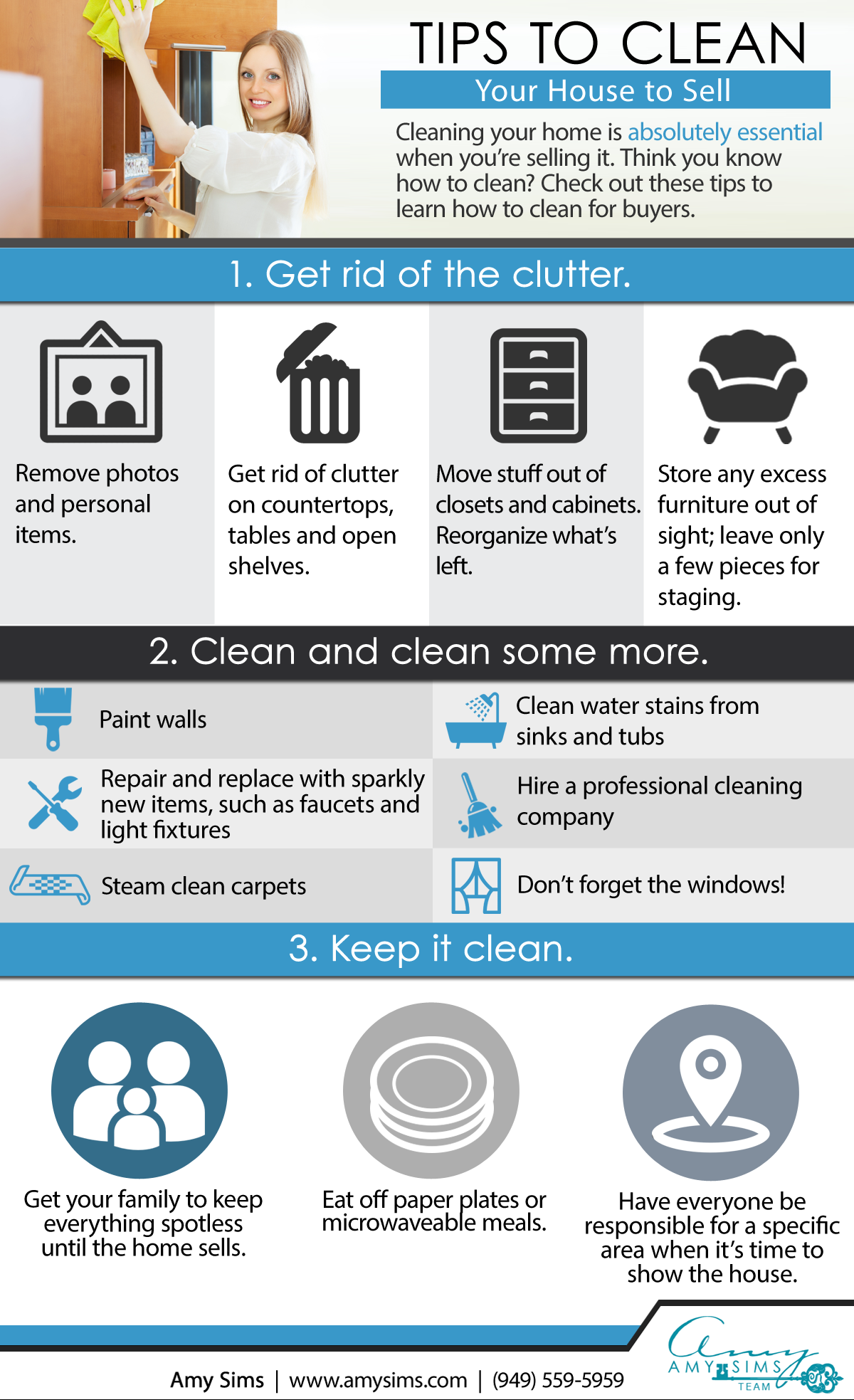 Tips to Clean Your House Image